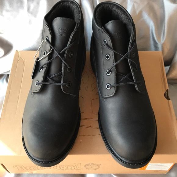 Timberland Mens Black Chukka Boots